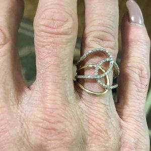 Jewelry - 💎💎♥️🌹10k DIAMOND FREESTYLE RING 💎💎❤️🌹